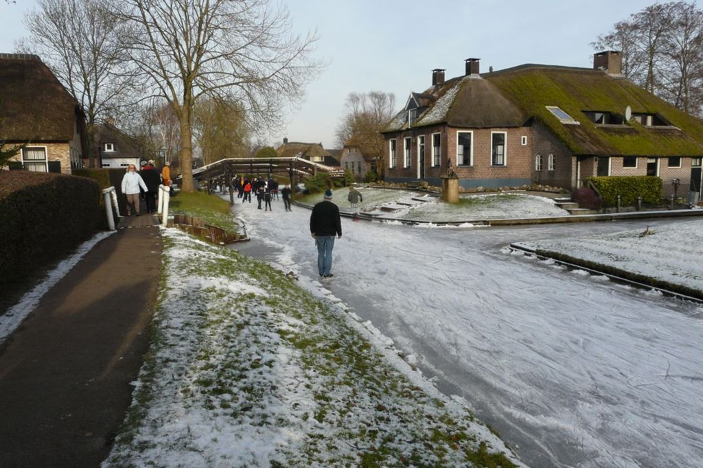 Giethoorn, a veneza do norte