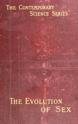 Cover of: The evolution of sex