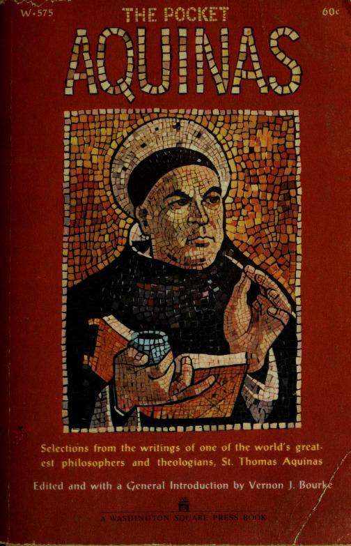 The pocket Aquinas by Thomas Aquinas